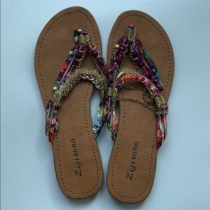 "Zigi soho sandals, multicolored, style ""Fairy"""